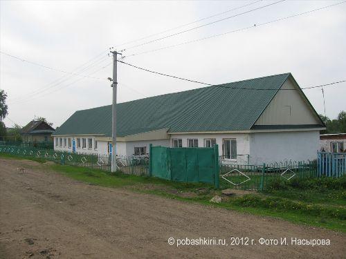 Школа Новобирючево Нуримановского района Башкирии