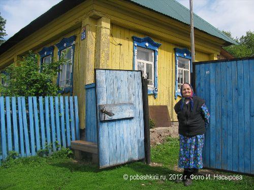 Василя-апа из Новобирючево Нуримановского района Башкирии