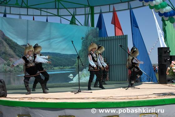 Башкирские джигиты танцуют
