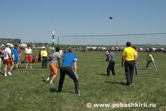 Волейбол на Сабантуе