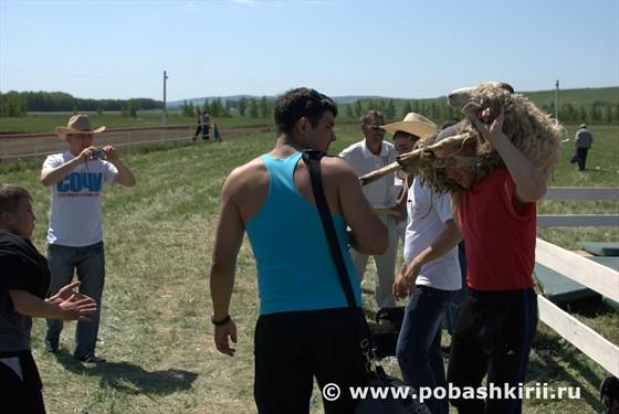 Барашек победителю Сабантуя, Кугарчинский район Башкортостан