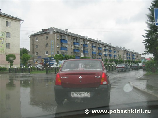 Учалинский район. г. Учалы. Июнь 2012
