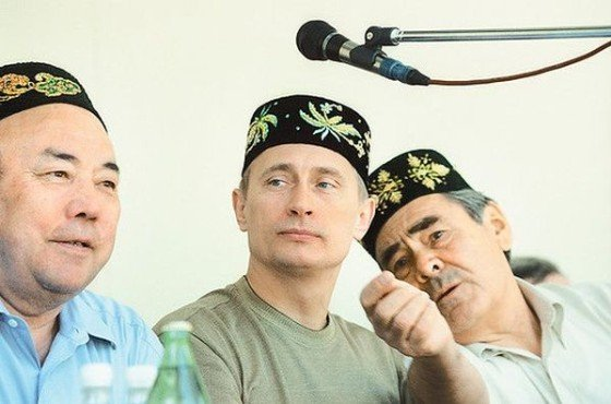 Президенты на Сабантуе