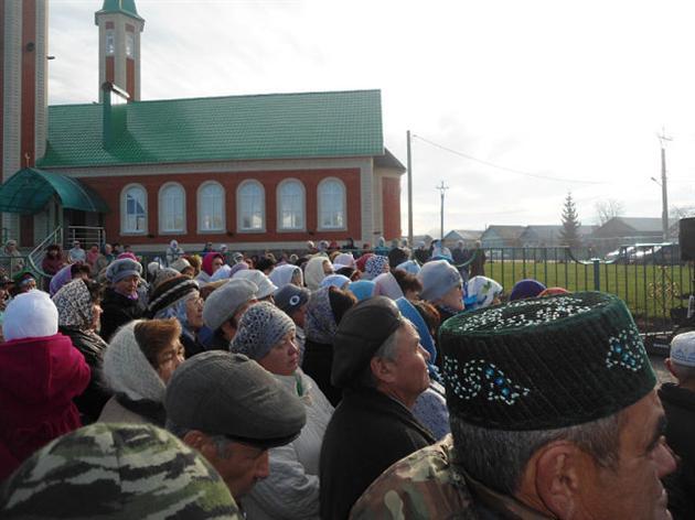 Кызыл масет Мраково. Открытие мечети
