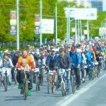 «День 1000 велосипедистов» в Уфе