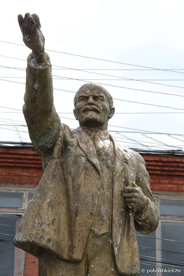 статуя Ленина В. И.