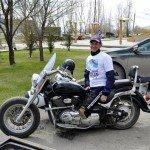 Ильдар Галиакбаров на пути к Севастополю