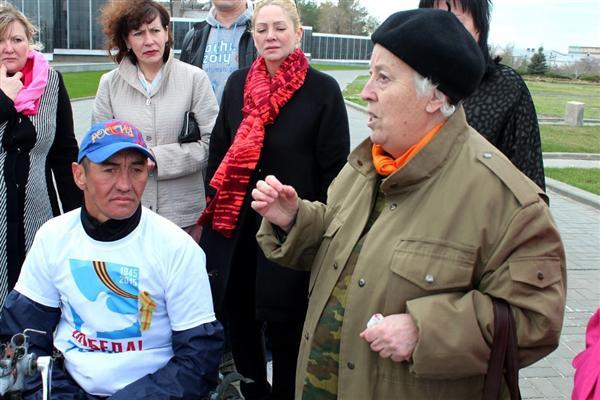 Ильдар Галиакбаров и волгоградцы