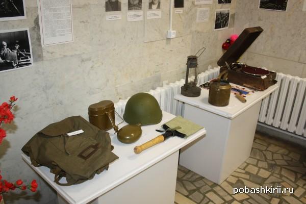 Военные экспонаты музея Салавата