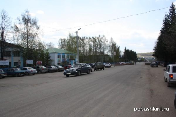 Село Малояз - административный центр Салаватского района Башкирии