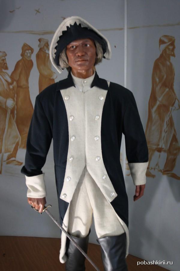 Солдат царской армии времен Крестьянской войны 1773-1775 гг.