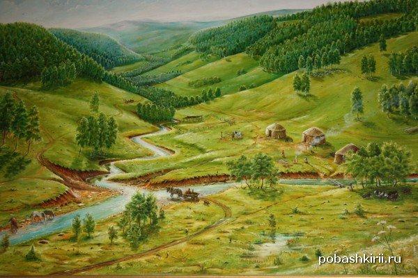 Деревня Текеево, родина Салавата Юлаева