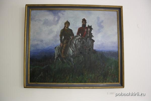 Салават Юлаев и Емельян Пугачев на картине