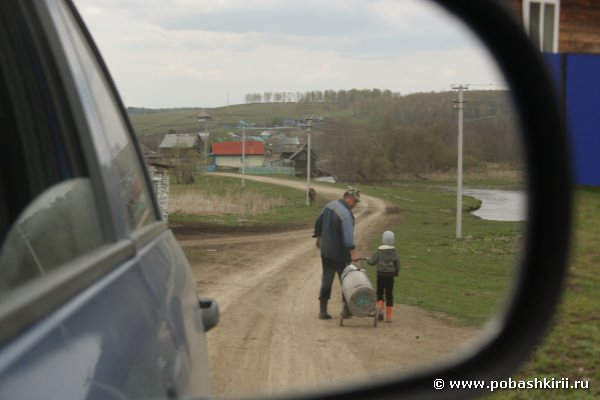 Жители села Алькино