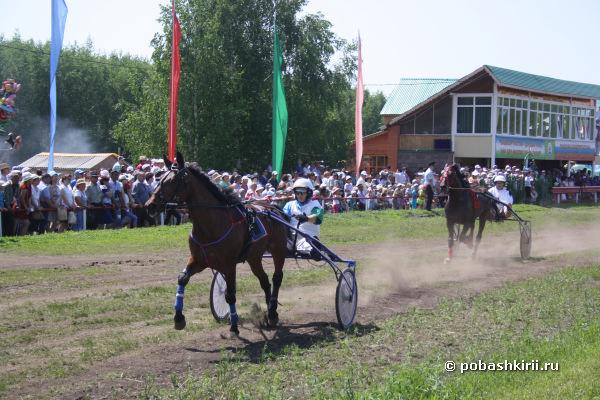 Конные скачки в Кугарчинском районе