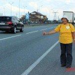 Сания Сагитова: автостопом по всему миру