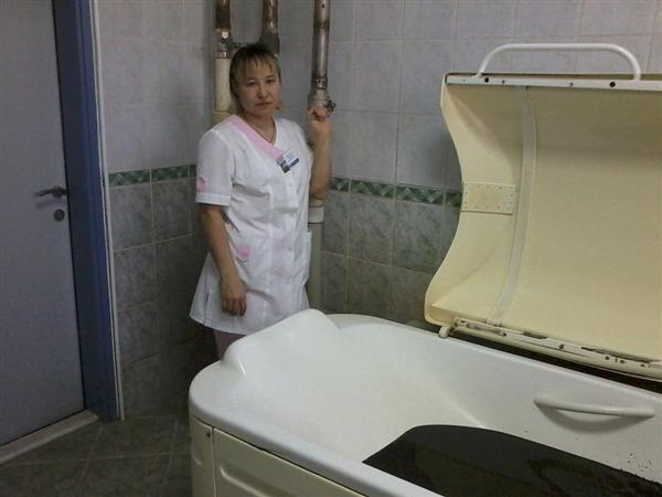 В санатории Красноусольск