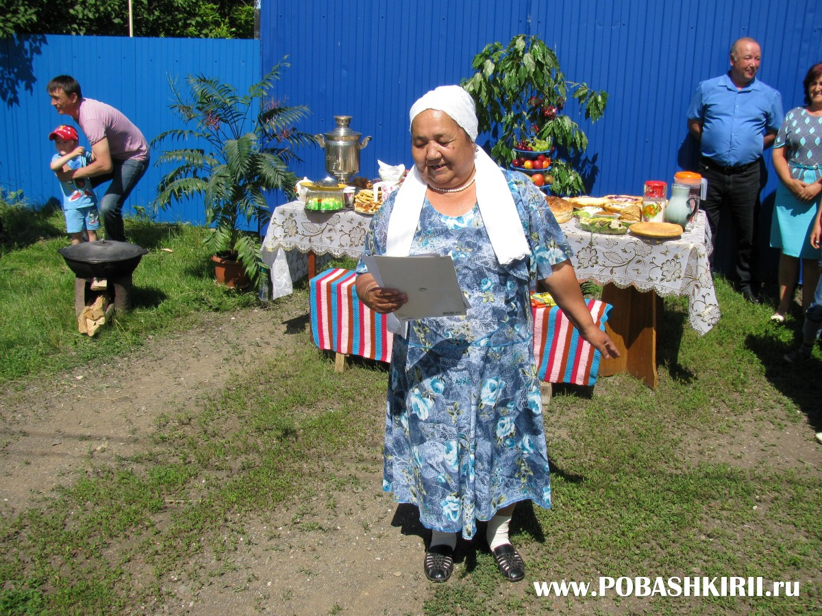 Жительница хутора Новохвалынский