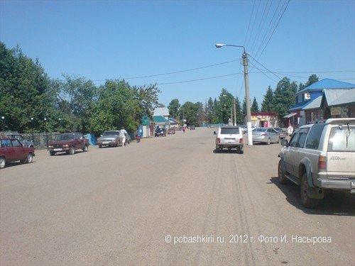 в Красной горке Нуримановского района Башкирии все просто
