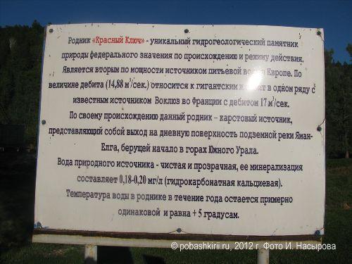 Нуримановский район Башкирии село Красный ключ