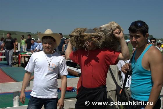 Победитель Сабантуя в Кугарчинском районе Башкортостан