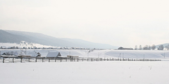 Башкирия зимой