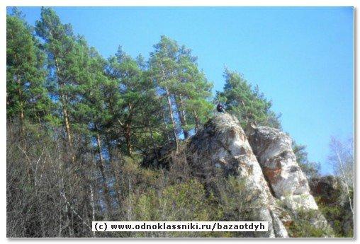 Горы Бурзянского района Республика Башкортостан