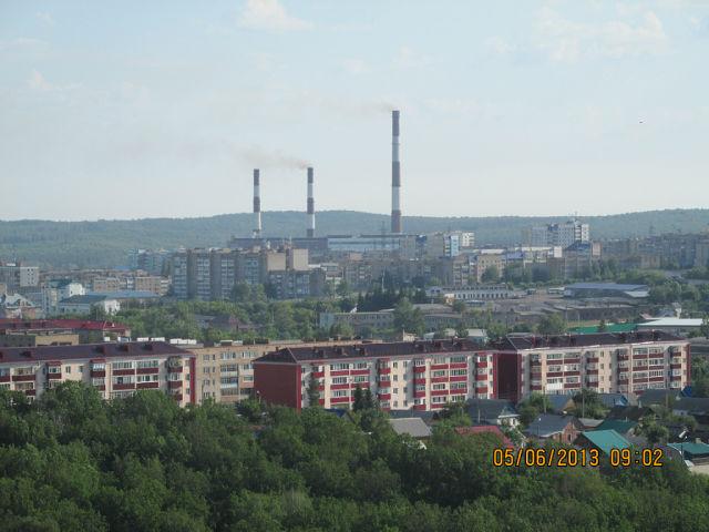 Виды города Кумертау