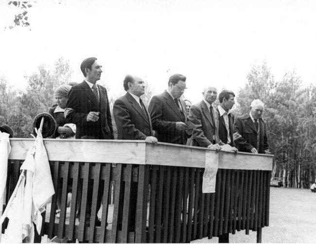 Сабантуй в Юкалекулево. 80-е годы