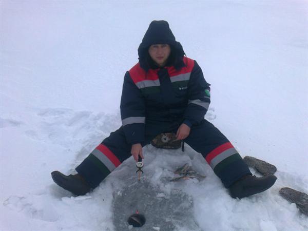 Зимняя рыбалка в Башкирии