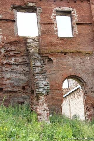 Стены медеплавильного завода села Воскресенского