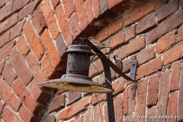 Медеплавильный завод. Старый фонарь