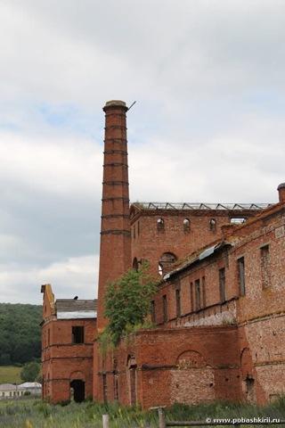 Завод в селе Воскресенское Башкирия