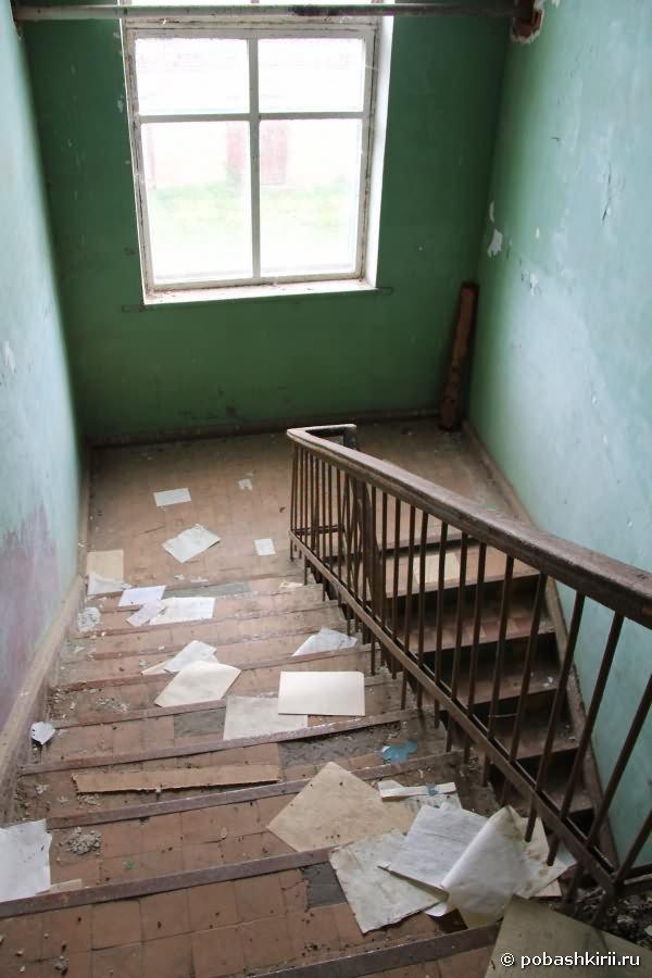 Лестница в старом здании