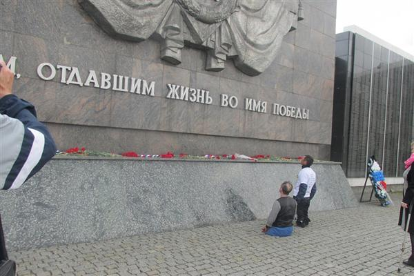 Ильдар Галиакбаров на Мамаевом кургане