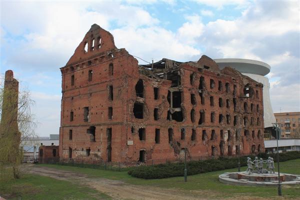 Волгоград. Разрушение после войны