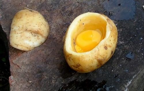 Как приготовить яйцо в картошке