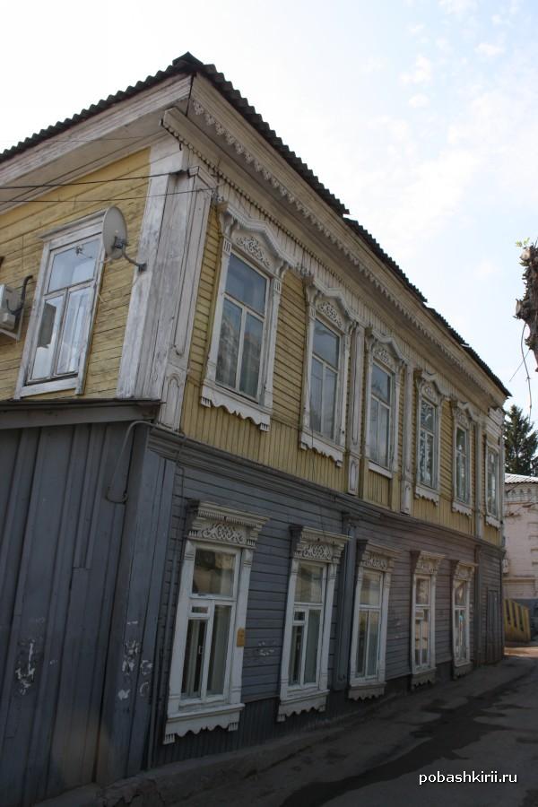 Старый дом в Уфе