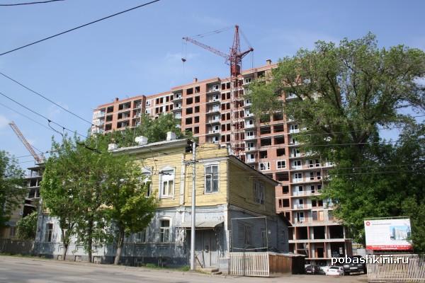Уфа, многоэтажные дома в центре