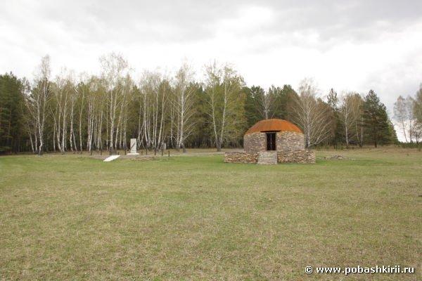 Место, где была деревня Текеево
