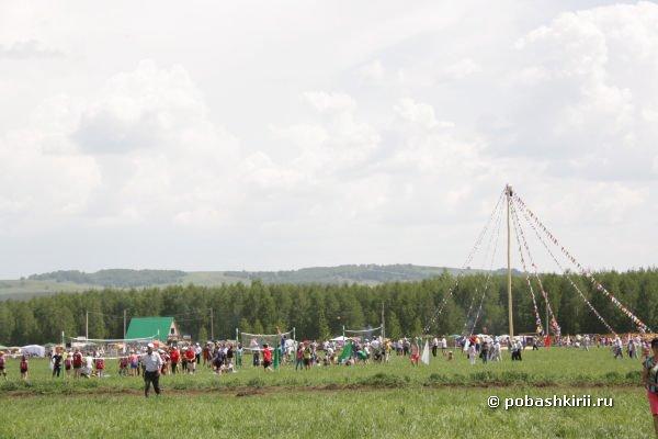 Сабантуй в Мраково. Фото