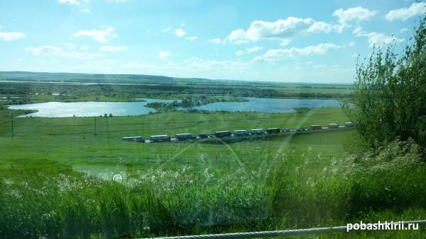 Огромная пробка на трассе М5 - Урал