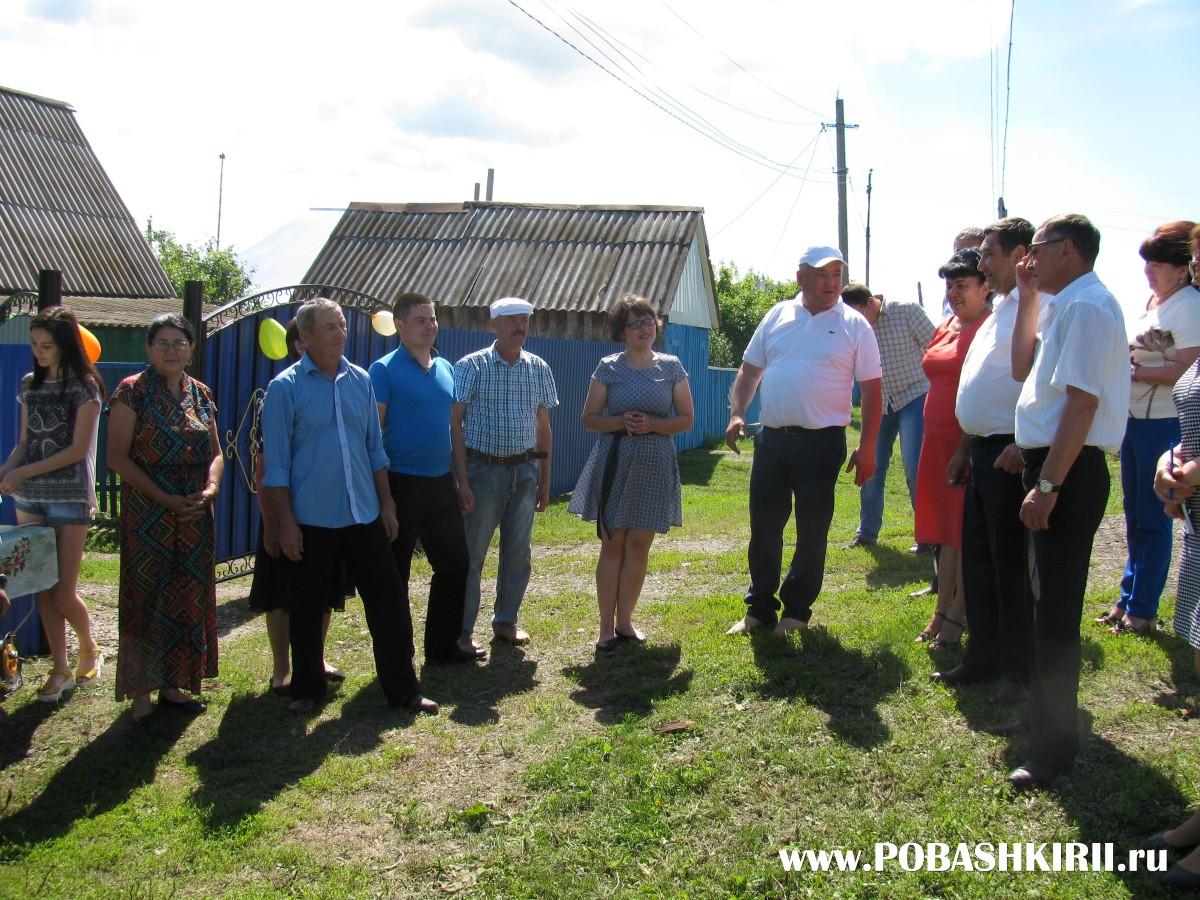 Жители хутора Новохвалынский Республики Башкортостан