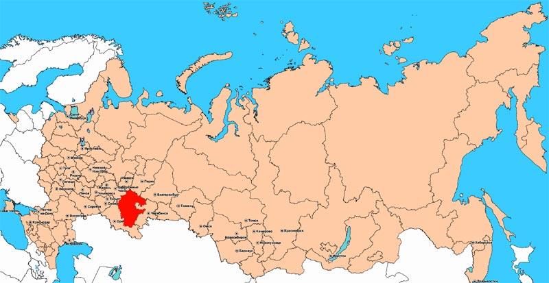 Республика Башкортостан в цифрах и фактах